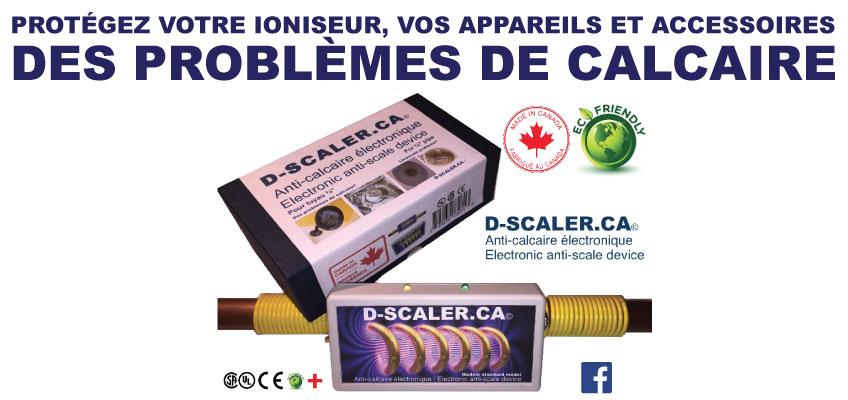 Anti calcaire lectronique d scaler pierre varin for Appareil anti calcaire electronique