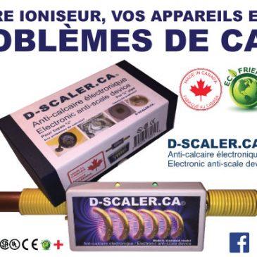 Anti-calcaire électronique ( D-SCALER )